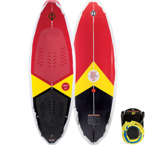 2018 Connelly Ride Wakesurf Board with package rope