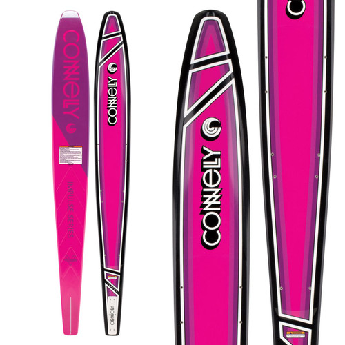 2018 Connelly Women's Aspect Waterskis Top and Bottom view
