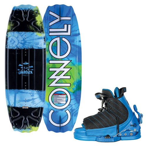2019 Connelly Charger 119 cm Wakeboard With Tyke Boots