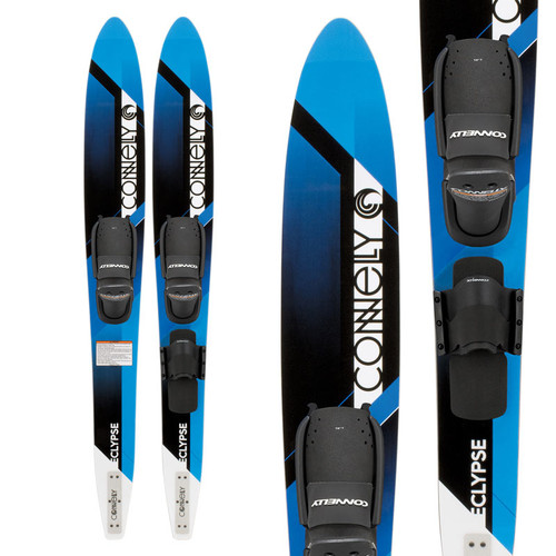 "2019 Connelly Eclypse Combo Waterskis 67"" With Front Adjustable & RTS Bindings"