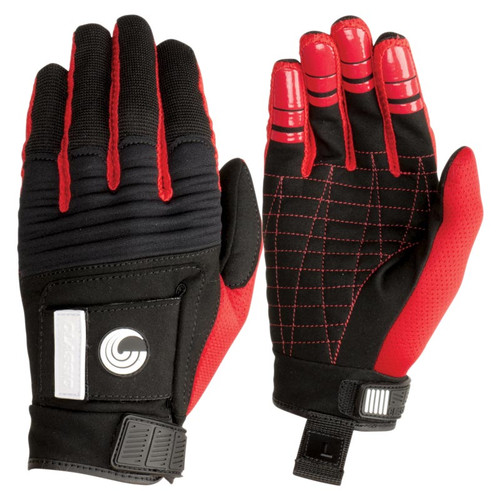 Connelly Men's Classic Waterski Gloves Front and Back