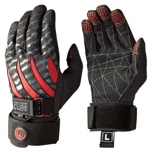 Connelly Men's Claw 2.0 Waterski Gloves Front and Back