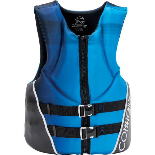 Connelly Aspect Men's Neoprene Life Jacket Blue/Black Front