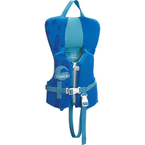 Connelly Promo Boys Infant Neoprene Life Jacket, Blue/Aqua Product Image Front