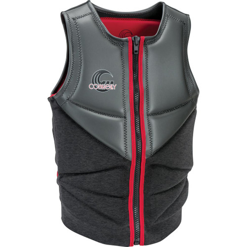 Connelly Reverb Men's NCGA Neoprene Vest, Grey/Red, Product Image Front