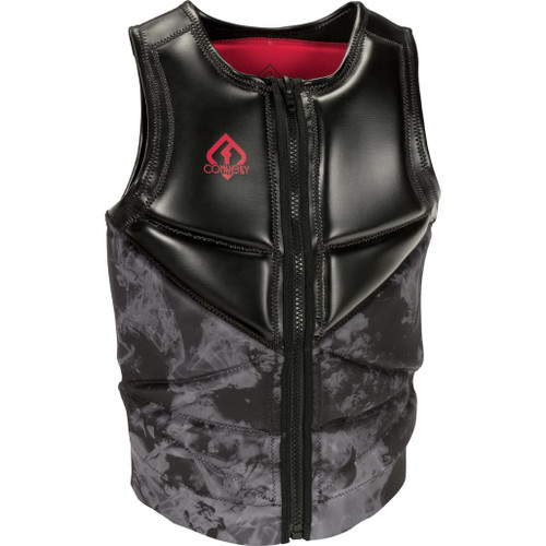 Connelly Reverb Men's NCGA Neoprene Vest, Red/Black, Product Image Front