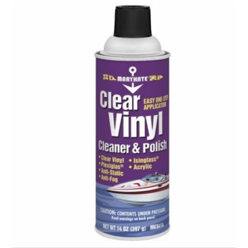 MaryKate Clear Vinyl Cleaner and Polish 14 Oz.