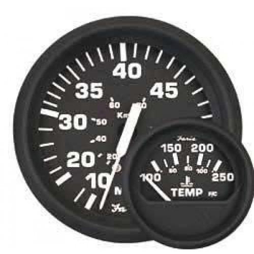 "Faria 55 MPH Speedometer Gauge Euro 4"""