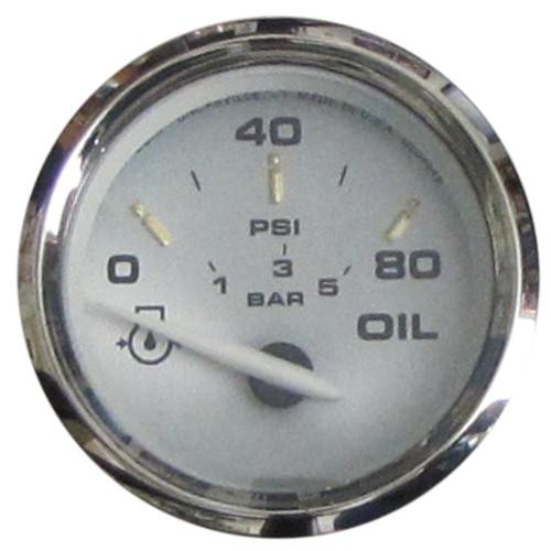 "Faria Oil Pressure Gauge 80 PSI Kronos 2"""