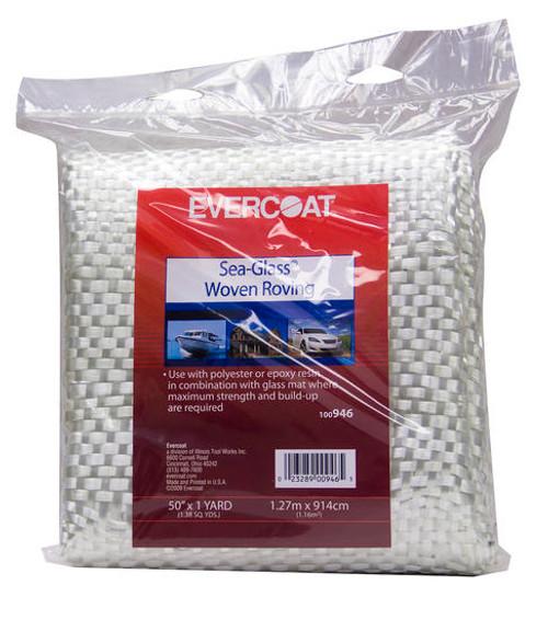 "Evercoat Fiberglass Fabric Woven 50"" x 1 YD."