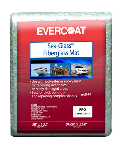 Evercoat Fiberglass Mat 1 YD.