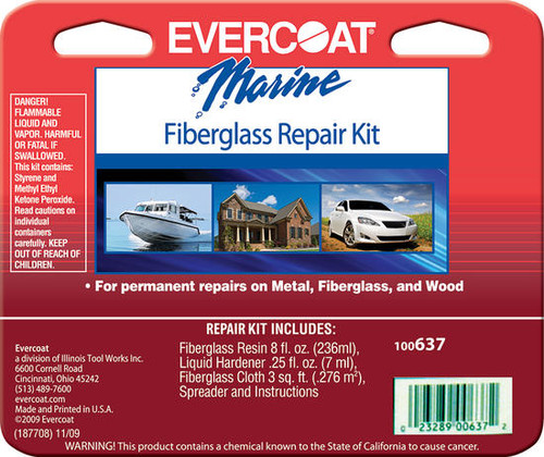Evercoat Fiberglass Repair Kit