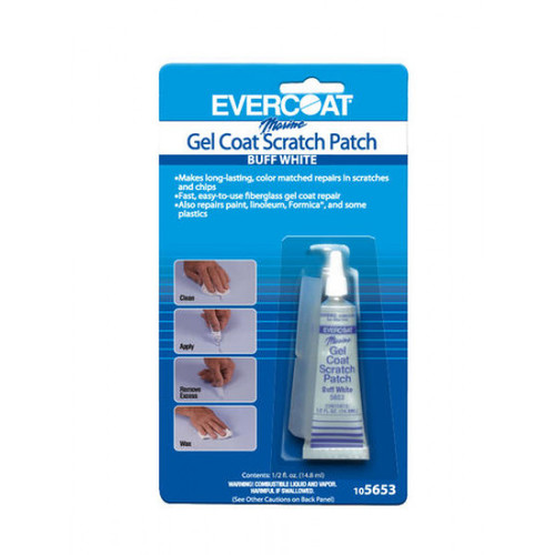 Evercoat Gel Coat Scratch Patch Buff White 12 Oz.