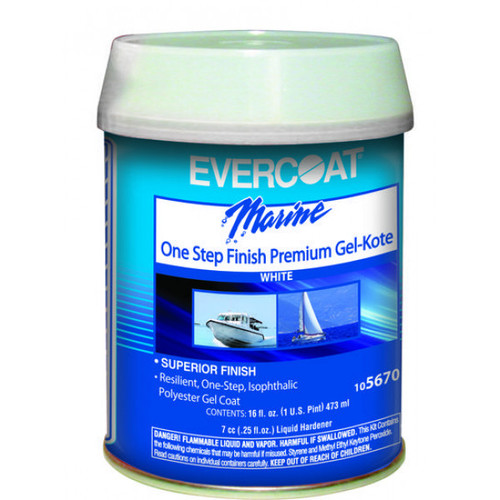 Evercoat One Step Finnish Premium Gel-Kote 1 Pint