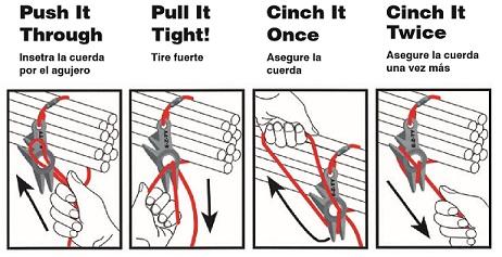 Large Rope Belt Instructions