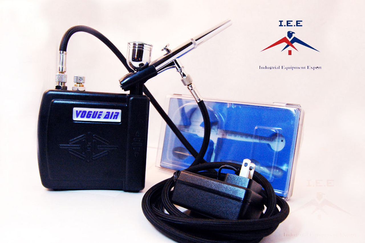 Airbrush MAS KIT-VC16-B22 Portable Mini Airbrush Air Compressor Kit