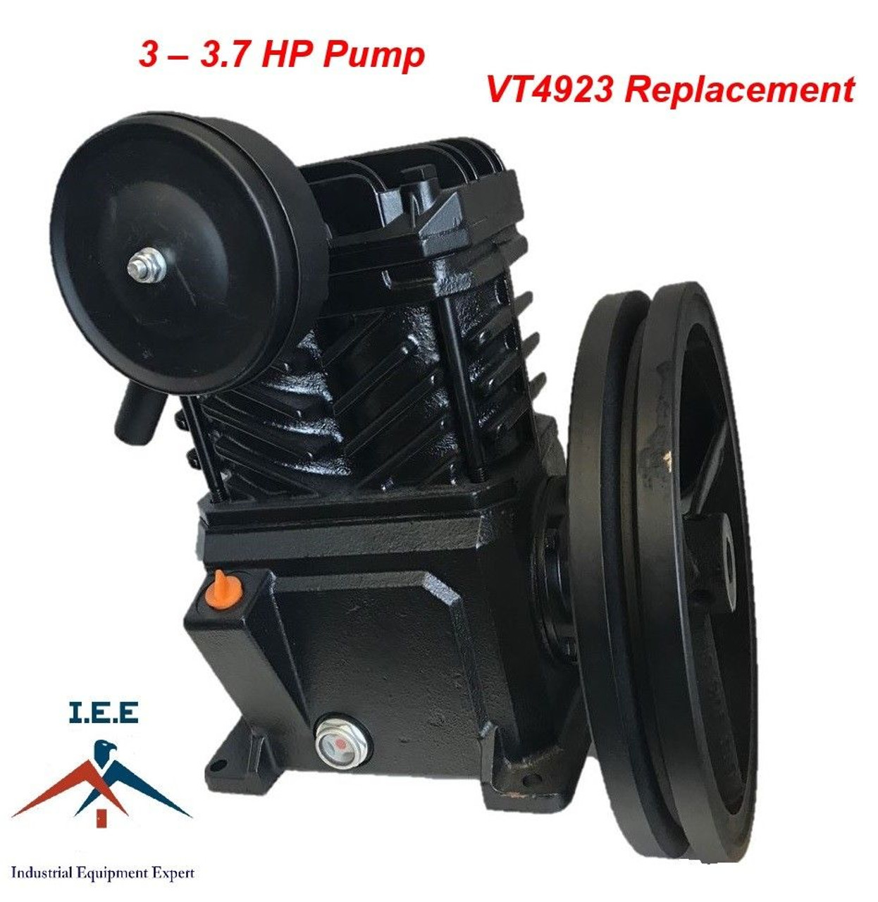 Replacement Air Compressor Pump >> Campbell Hausfeld Replacement Vt4923 3 Hp Cast Iron Air Compressor