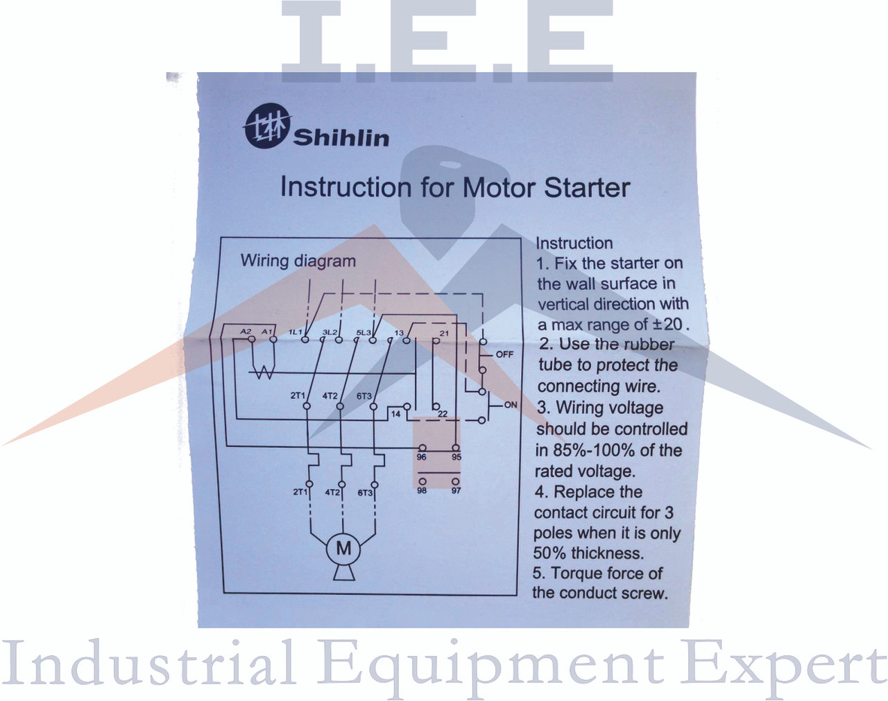 230 Single Phase Air Compressor Magnetic Starter Wiring Diagram For on