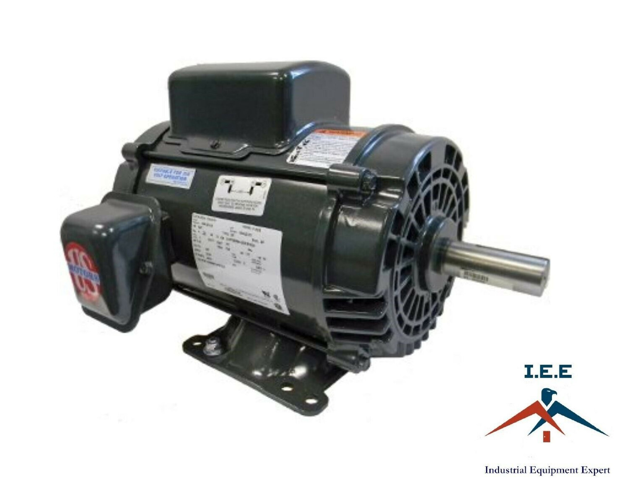 D5C2K18 5HP Air Compressor Electric Motor single phase 1725 RPM 184T on