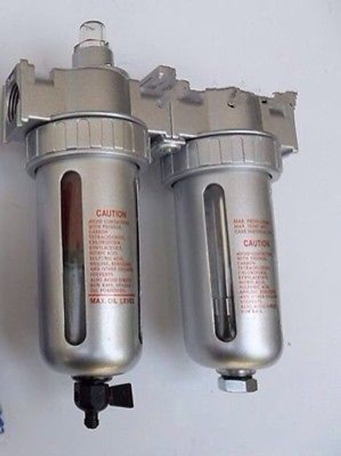 "1/2"" Compressed air in line filter & desiccant dryer combo Use W/Plasma Cutter"