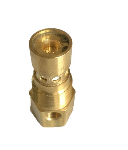 """Ingersoll Rand 5/8"""" X 3/4"""" Inverted Flare Air Compressor Check Valve Brass New"""