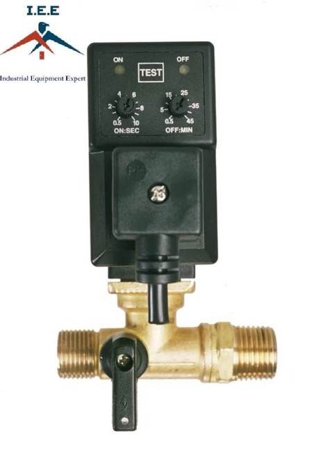 Automatic Electronic Timed Air Tank Water Moisture Drain Valve For CompressorAutomatic Electronic Timed Air Tank Water Moisture Drain Valve For Compressor