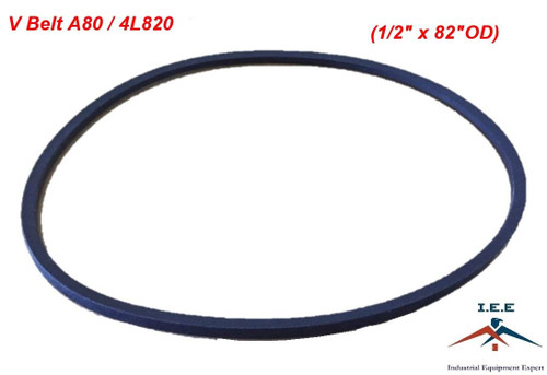"""REPLACEMENT BELT FOR Craftsman 140294, 140067 (1/2 x 82"""")"""