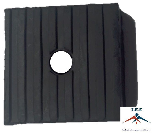 Anti Vibration Pads For Air Compressor Or Equipment Solid Rubber 4x4x1