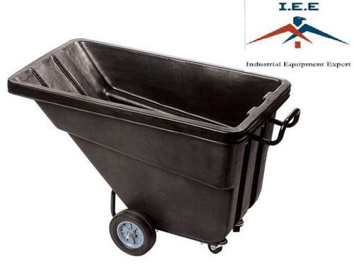 Heavy Duty Janitorial Dump Tilt Cart 3/4 Cubic Yard Hotel, Recycle, Airport, etc