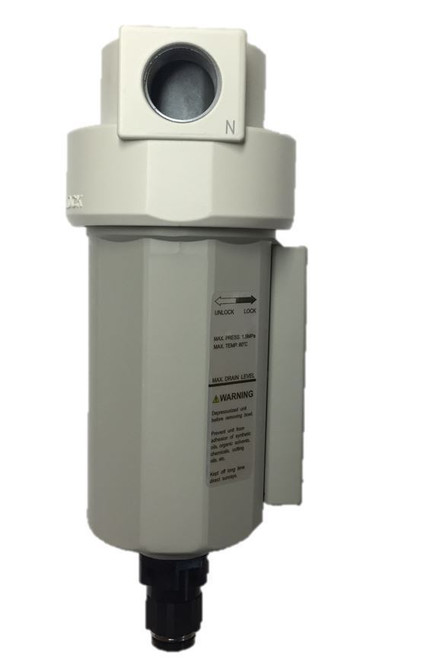 """1/2"""" Compressed Air In Line Moisture/Water Filter Trap Auto Drain New"""