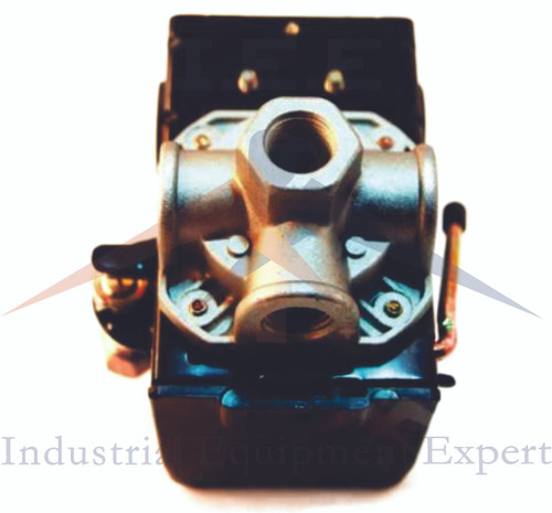 Heavy Duty Air Pressure Switch, Sunny L4, 4 port, 95-125 PSI, 25 Amp w/ Unloader