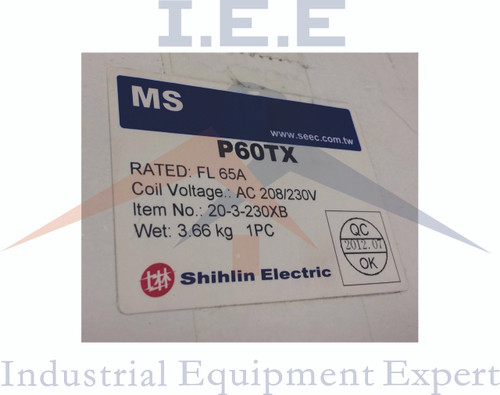 20 HP 3 Phase Magnetic Starter Motor Control 208/230 Volt Industrial Switch