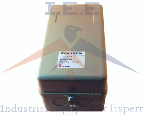 5 HP Single Phase Magnetic Starter Motor Control New w/ Manual On/Off button