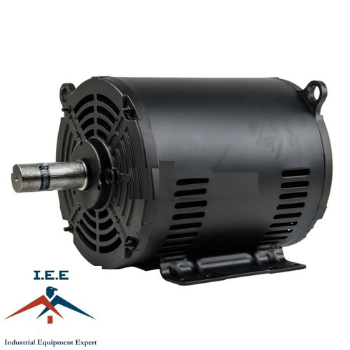 WEG 7.5 HP 3 Phase 1770 RPM Electric Motor Air Compressor Duty 213/5T Frame