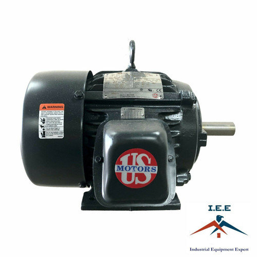 H5P2D 5HP Three Phase US Motor General Purpose 1760 RPM 184T Hostile Duty TEFC