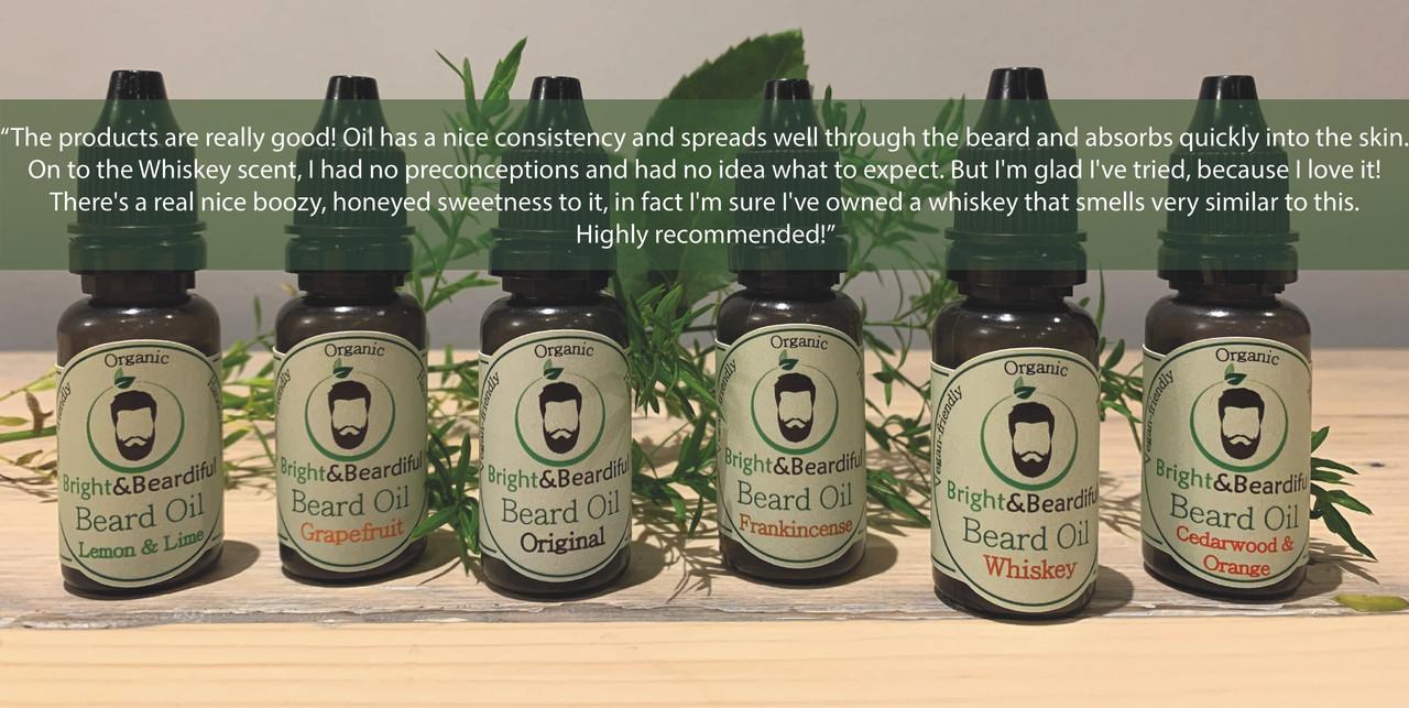 Bright and Beardifuls Beard Oils