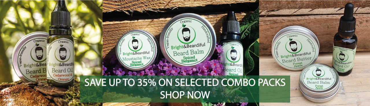 Bright and Beardiful Combo Packs - Save up to 35%