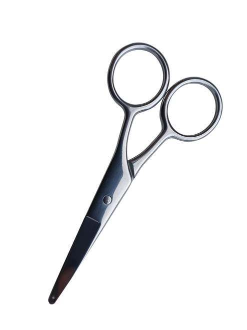 Stainless Steel Beard Trimming Scissors