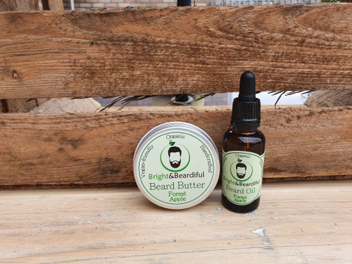 Bright and Beardiful Beard Butter and Beard Oil Combo