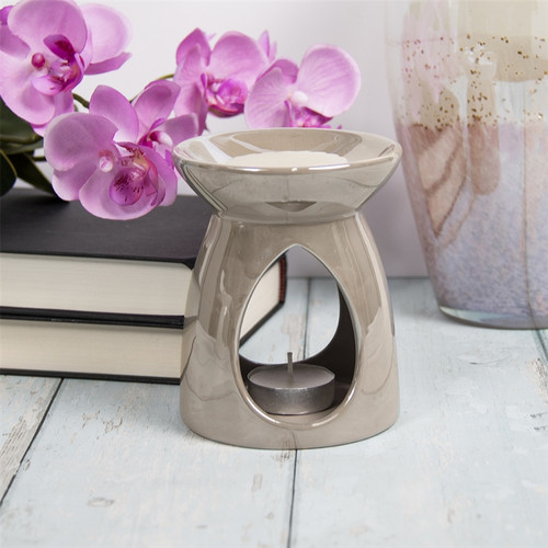 Pearlised Effect Ceramic Wax Melter only £9.90!