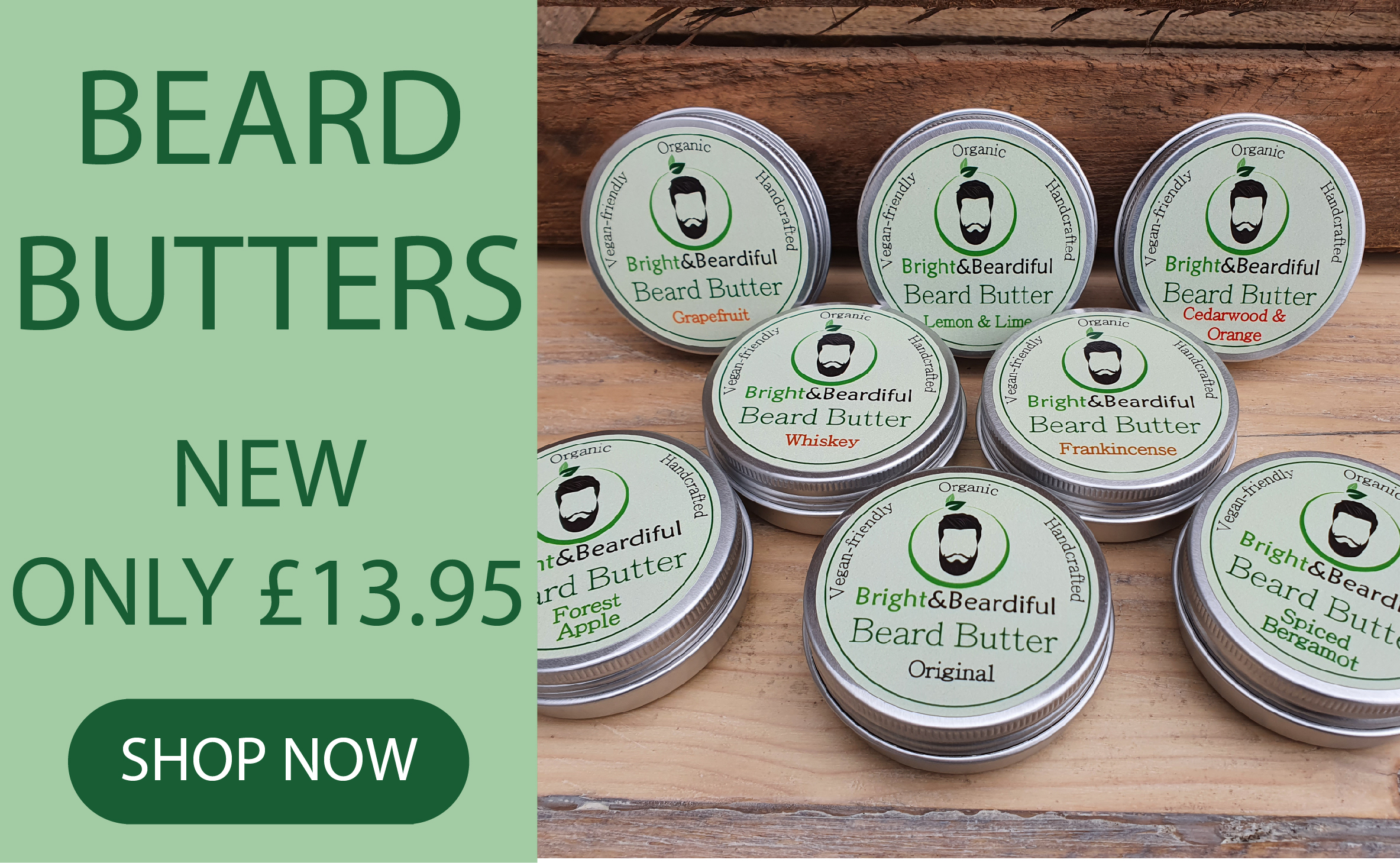 The Bright Collection - Bright and Beardiful's Beard Butter