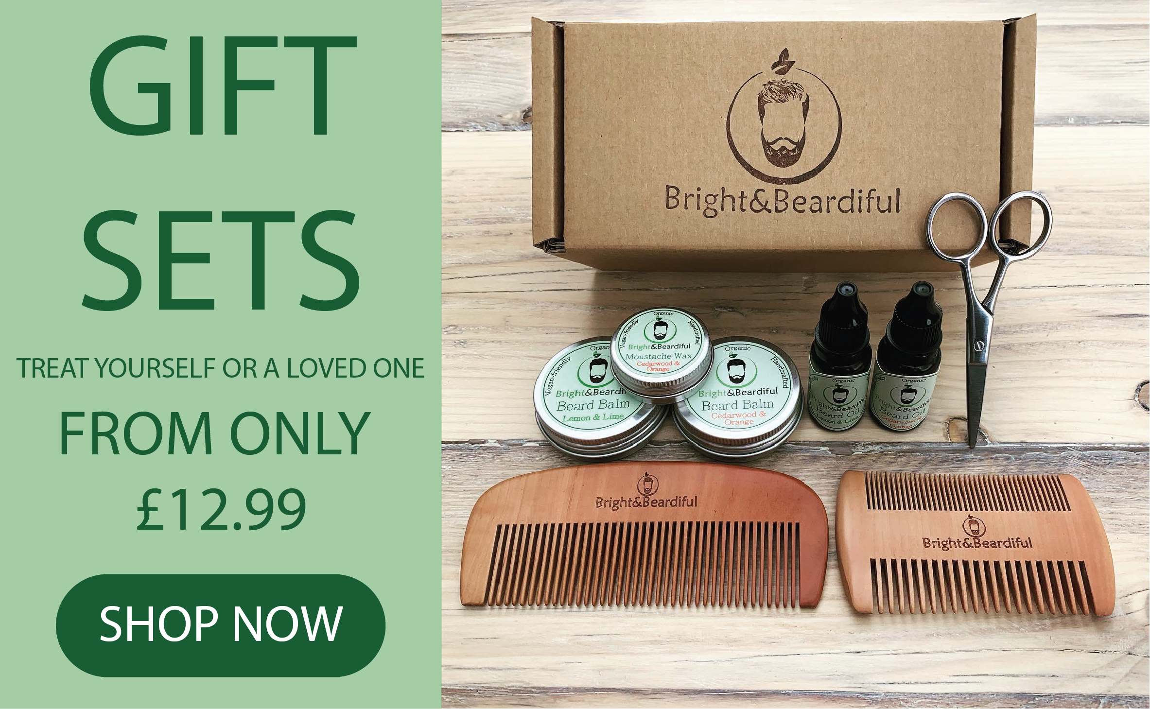 The Bright Collection - Bright and Beardiful's Gift Sets for Bearded Loved Ones
