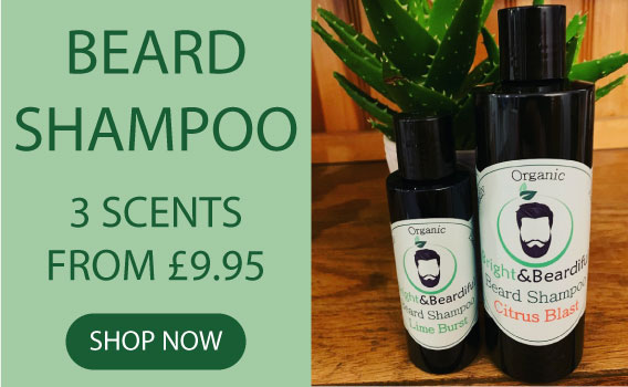 The Bright Collection - Bright and Beardiful's Beard Shampoo, Deep Cleansing Beard Wash