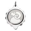 Chrome Plated SOS Talisman Pendant - Zodiac Aries