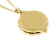 Gold Plated SOS Talisman Pendant - Standard Plain