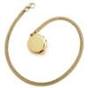 Gold Plated SOS Talisman Pendant - Zodiac Taurus