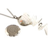 Stainless Steel SOS Talisman Necklace - Darts