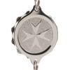 Chrome Plated SOS Talisman Bracelet -  St John / Malta Cross