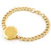 Gold Plated SOS Talisman Bracelet -St. Christopher