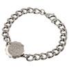 Stainless Steel SOS Talisman Bracelet - St John / Malta Cross